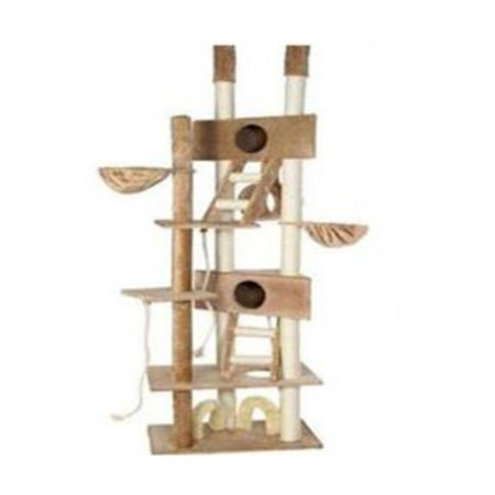 Go Pet Club Cat Tree - Ladder - Beige - 106 in.
