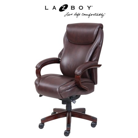 La Z Boy Hyland Executive Office Chair   Coffee