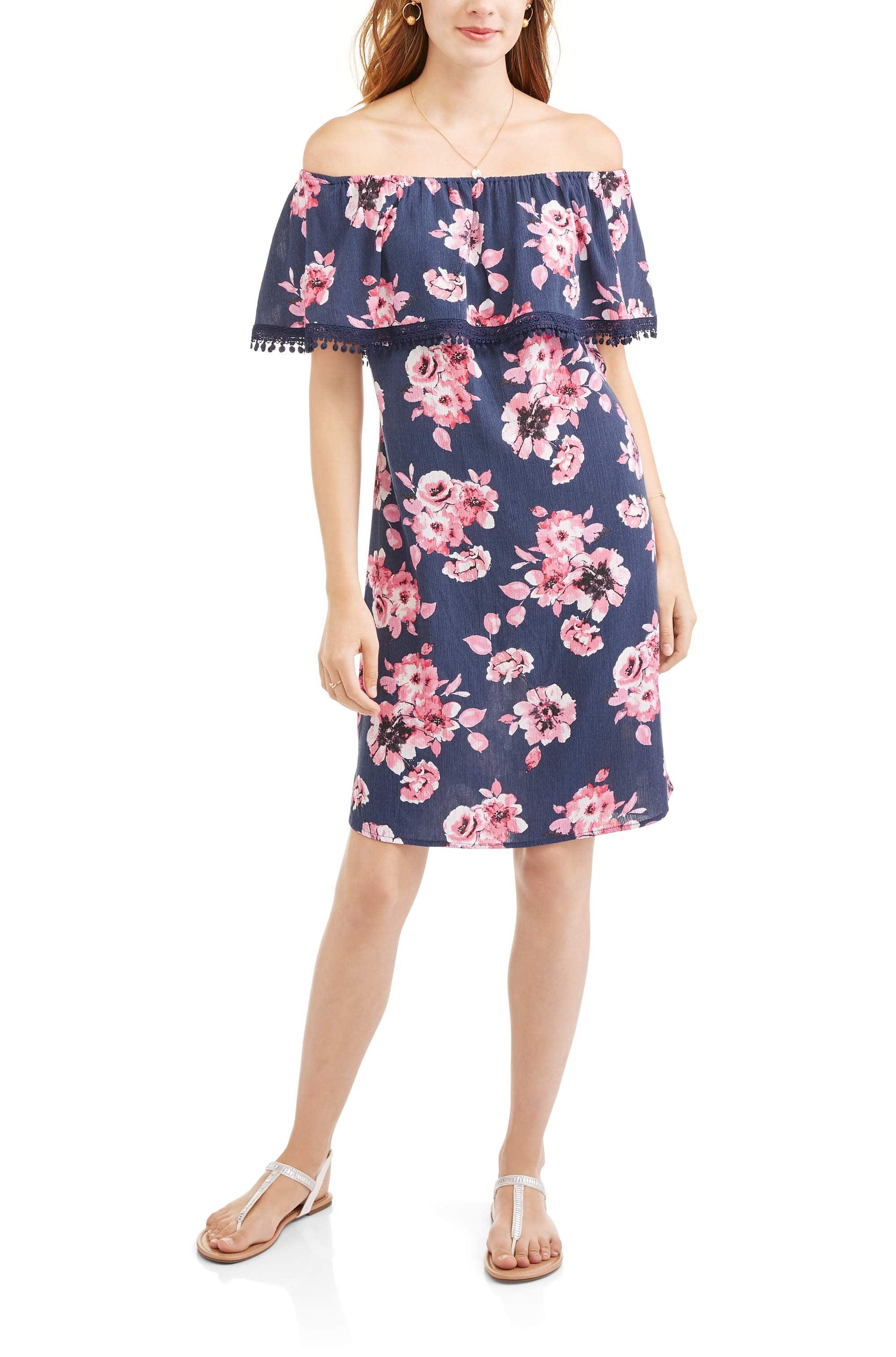 Whoa, Wait Women's Cha Cha Ruffle Dress