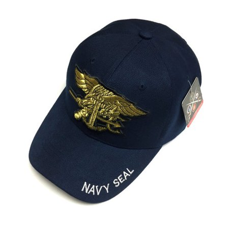 90ed2254e85 Pit Bull - U.S. Military Official Licensed U.S. NAVY SEAL Baseball Cap Mens  One Size Navy - Walmart.com