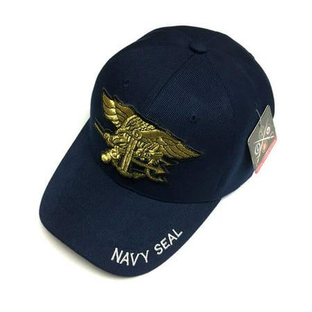 17959761073 Pit Bull - U.S. Military Official Licensed U.S. NAVY SEAL Baseball Cap Mens  One Size Navy - Walmart.com