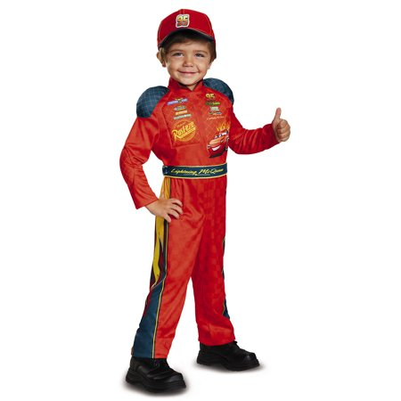 Cars 3 - Lightning Mcqueen Classic Child Costume - Size 4-6 - Lightening Mcqueen Costume