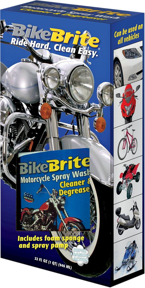 Bike Brite Motorcycle Cleaner Degreaser Spray Kit MC44K by Bike Brite