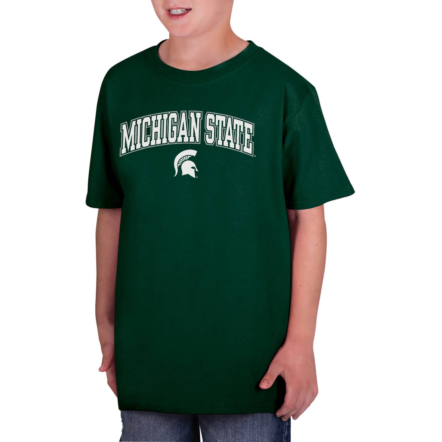 NCAA Michigan State Spartans Boys Classic Cotton T-Shirt