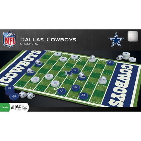 MasterPieces Dallas Cowboys Checkers Dallas Cowboys Games Online