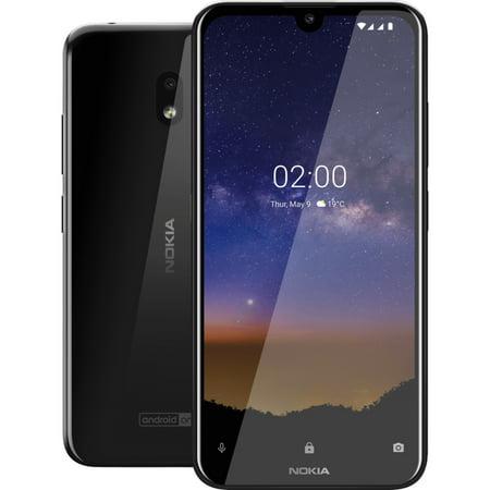 Nokia 2.2 TA-1179 32GB GSM Unlocked Android Phone - Tungsten Black