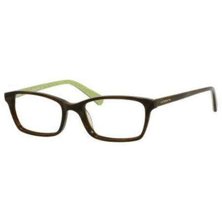 LIZ CLAIBORNE Eyeglasses 424 0EB8 Horn Green 50MM](Light Up Eyeglasses)