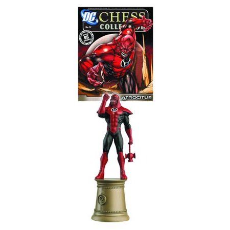 Dc Superhero Atrocitus Black Bishop Chess Piece   Magazine By  The Dc Chess Collection Continues With The Justice League Chess Set That Offers The Comic Fan And Chess    By Eaglemoss Publications