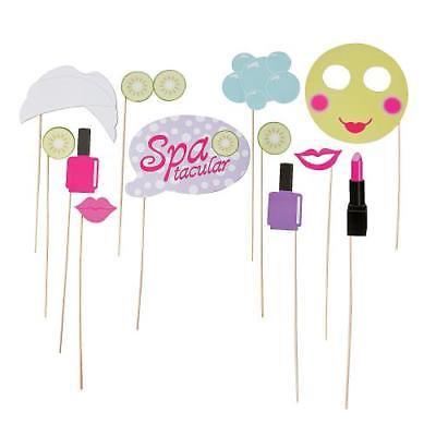 IN-13665983 Spa Party Photo Stick Props Per Dozen (Kids Spa Party Ideas)