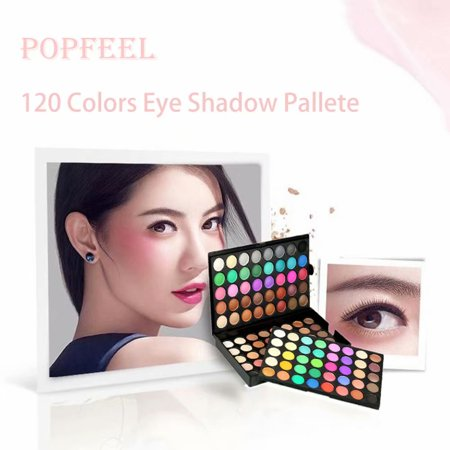 Eye Shadow 120 Colors Eyeshadow Eye Shadow Palette Colors Makeup Kit Eye Color Palette Halloween Makeup Palette Matte and Shimmer Highly Pigmented Professional Cosmetic