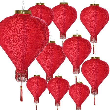 Chinese New Year Paper Decorations (10 Pcs 14