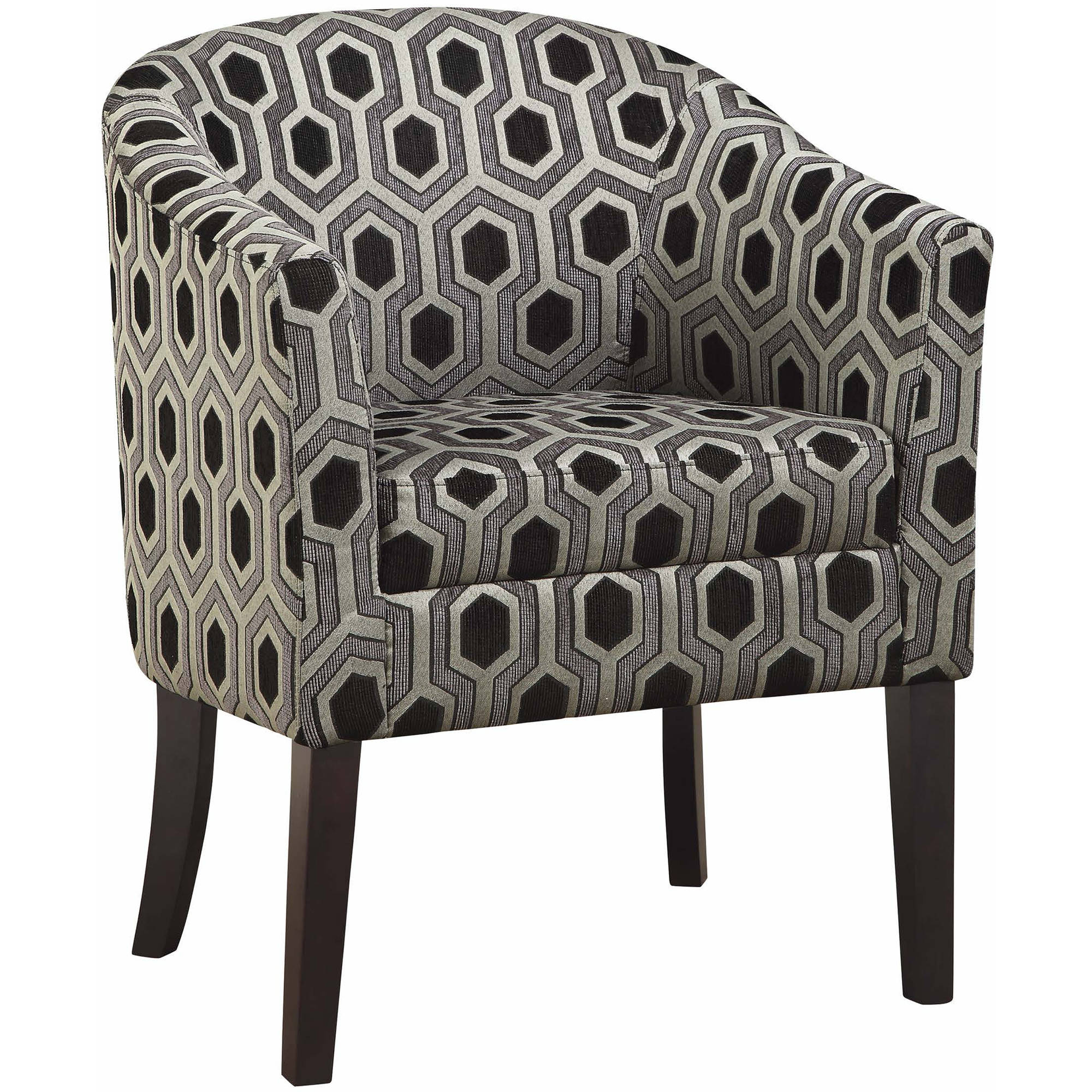 Coaster Company Accent Chair, Grey Black by Coaster Company