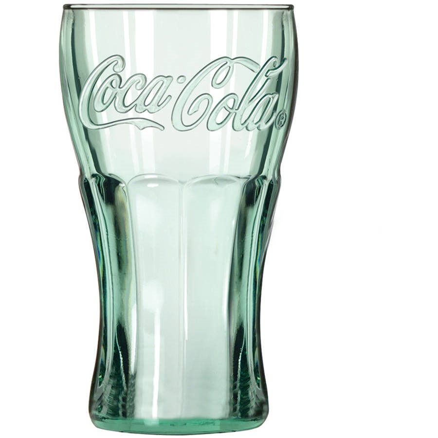 Libbey 16.75-oz Coca Cola Glass Tumblers, Set of 12