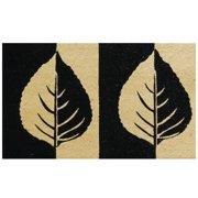 Robert Allen Home and Garden Birch Leaf Doormat