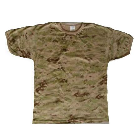 Digital Camouflage T-shirt (A T-Shirt Digital Mens & Womens Camouflage, Medium)