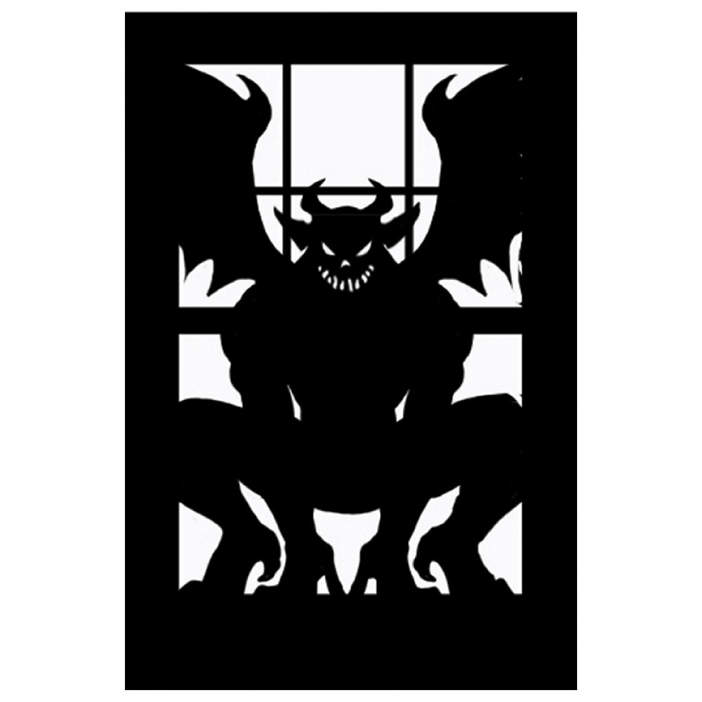 Hells Demon Silhouette