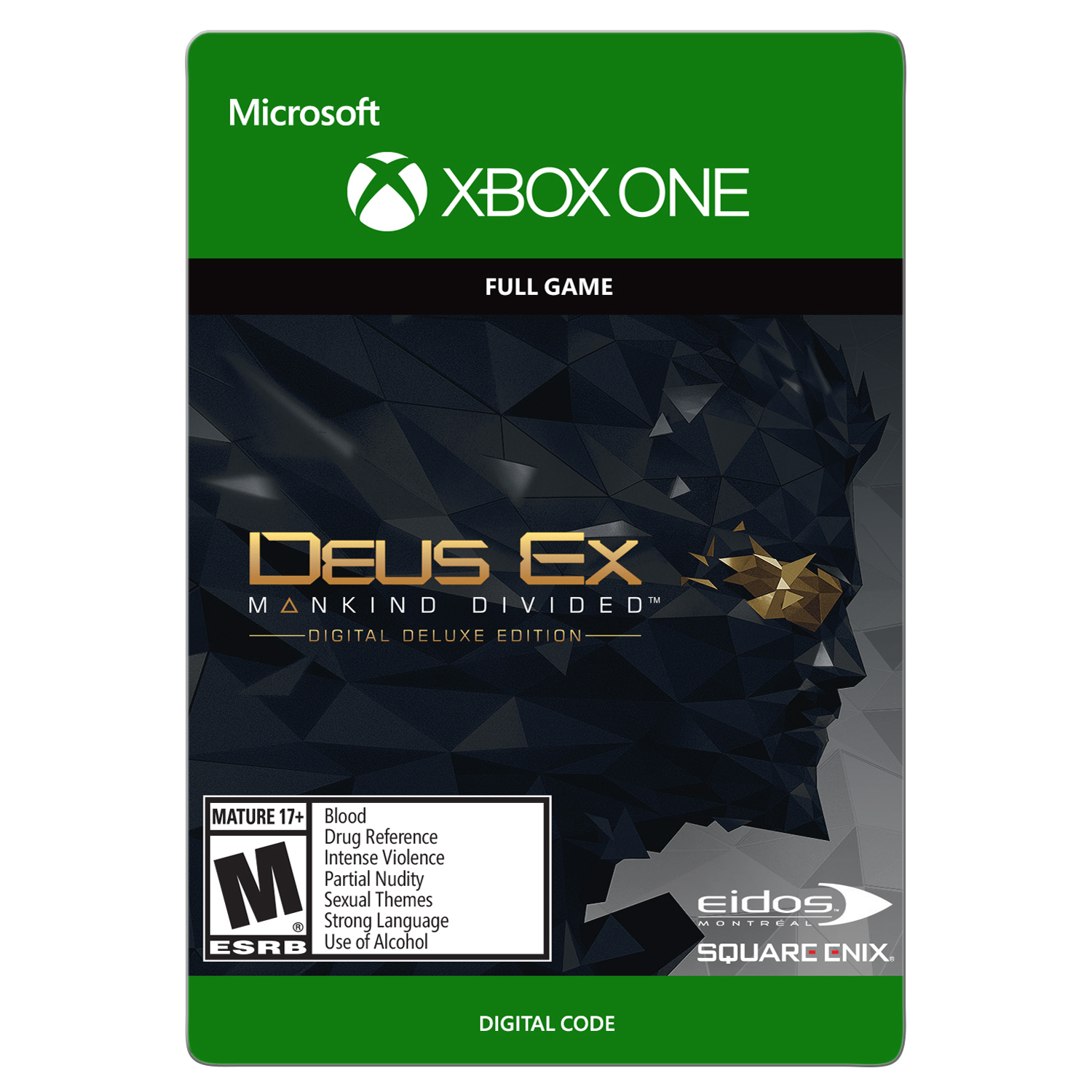 Xbox One Deus Ex: Game of the Year Edition (Email Delivery)