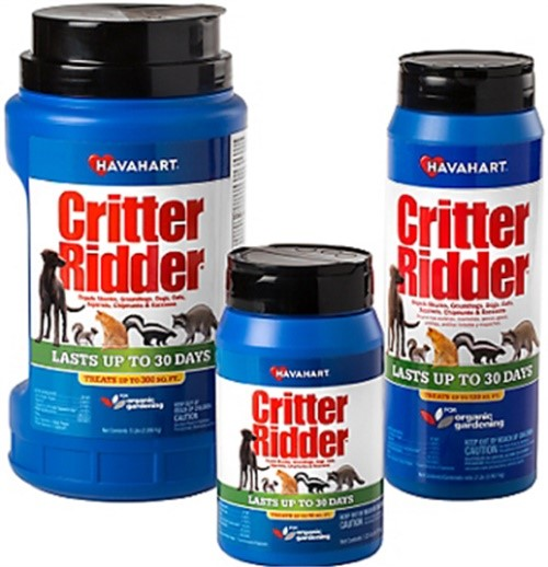 Part 3142 2.2# Critter Ridder Repellent, by Woodstream, Single Item, Great Value