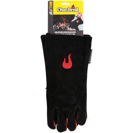 Char-Broil® Grill It Up? Hand-Stitched Leather Grilling Gloves