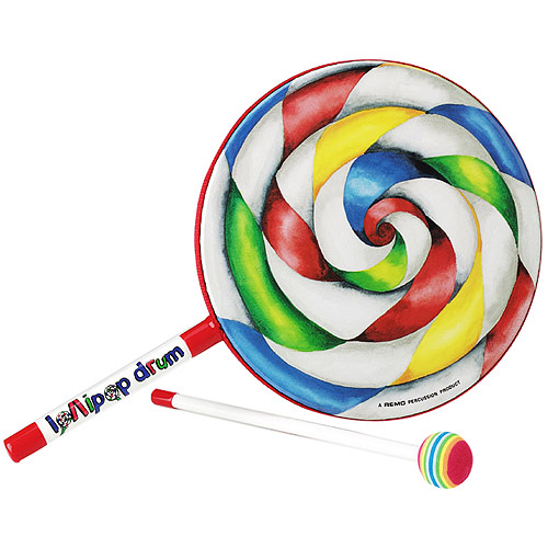 "Remo Kids Percussion Lollipop Drum - 6"" Diameter"