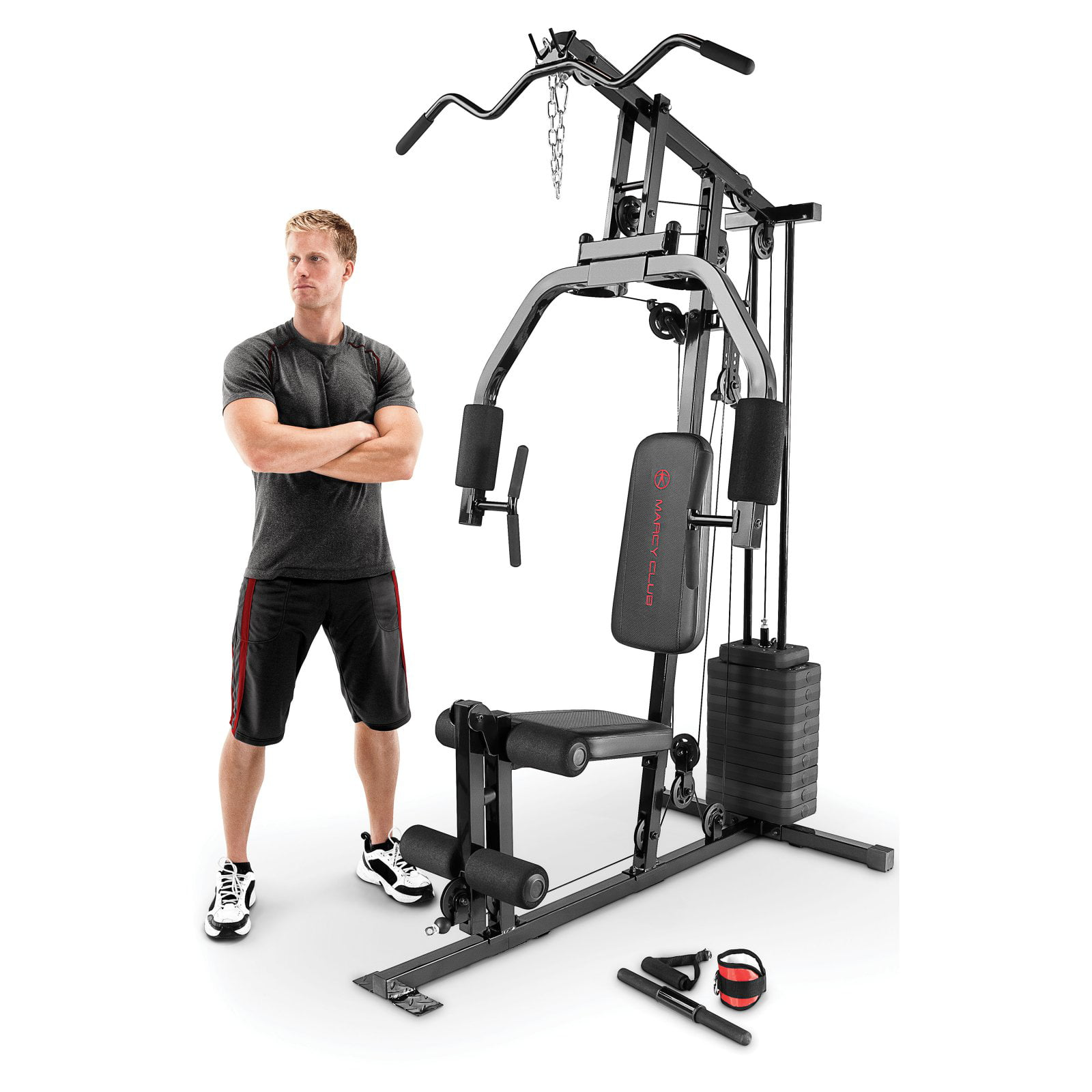 Marcy lb stack home gym mkm walmart