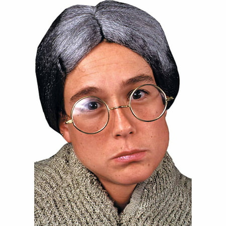 Granny Deluxe Round Glasses Adult Halloween (Halloween Glasses)