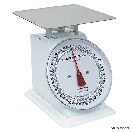 Detecto Large Mechanical Dial Scale - 10 lb 10 Lb Usb Scale