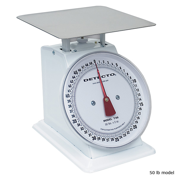 Detecto Large Mechanical Dial Scale - 10 lb
