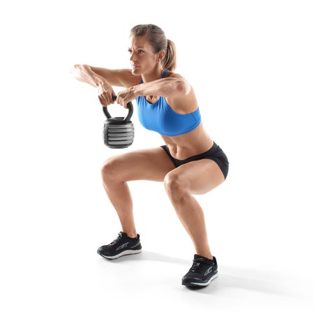Weider PowerBell 20 Pound Workout Kettlebell for Cardio and Strength Training - image 2 de 5