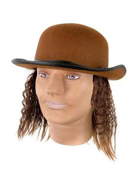 fcff88b3e61 Product Image Adult Brown Hat With Wig
