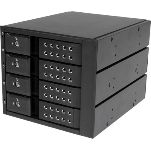 Startech HSB4SATSASBA 4 Bay Hot Swap Mobile Rack Backplane