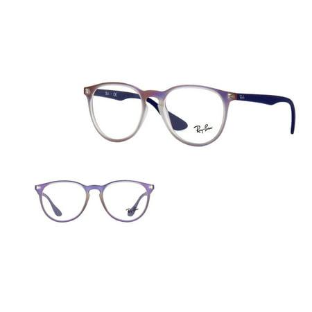 260d5ac0243 Rayban RB7046 5486 Violet Iridescent Unisex Eyeglasses Prescription Frame
