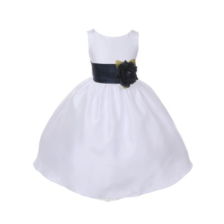 Dempsey marie dempsey marie poly silk flower girl dress with dempsey marie dempsey marie poly silk flower girl dress with colorful sash walmart mightylinksfo