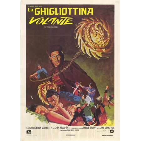 The Flying Guillotine (1974) 27x40 Movie Poster (Italian)