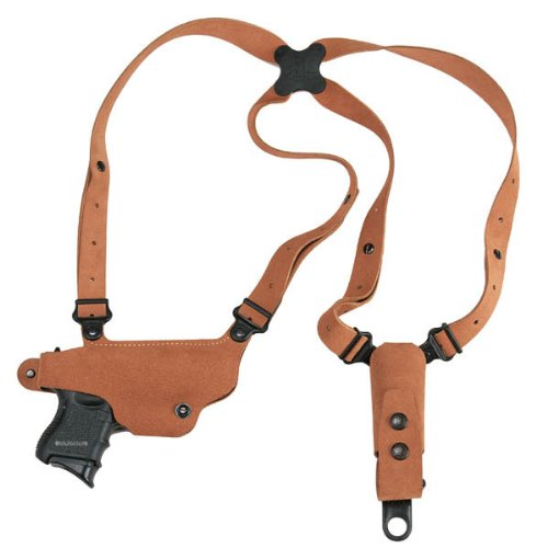 Galco Classic Lite Shoulder System for 1911 5-Inch Colt, Kimber, Para, Springfield - Natural, Right Hand