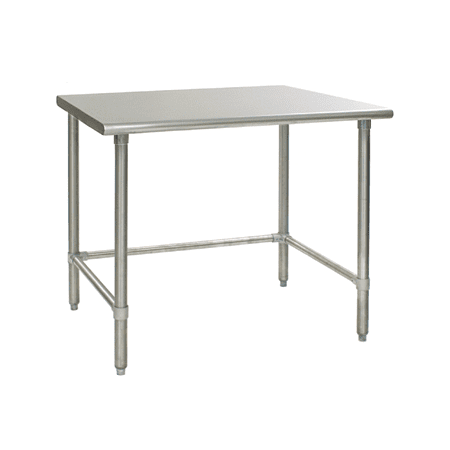 Universal SGRCB X Stainless Steel Work Table W - 18 x 48 stainless steel work table
