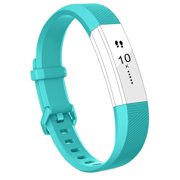 Fitbit Alta HR Band Bands Replacment Accessory Small Large Silicone Teal, Small