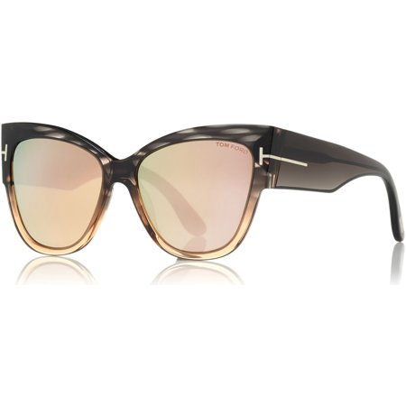 13ec2a27a85 UPC 664689863327 product image for Tom Ford Anoushka FT0371 Women s Cat Eye  Sunglasses