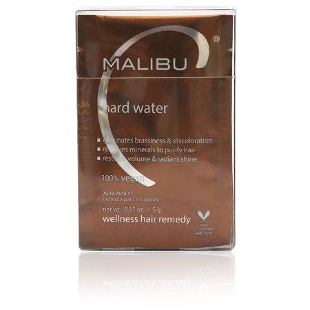 Malibu C Hard Water Wellness Hair Remedy .17 oz Pack, Pack of