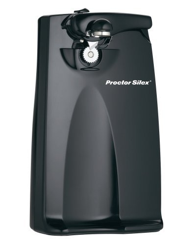 Proctor Silex Plus 76371P Extra-Tall Can Opener, Black by