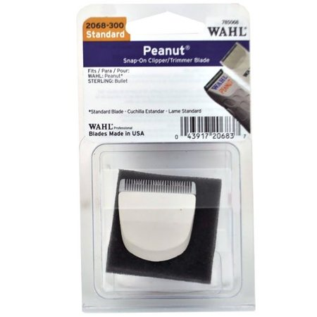 WAHL Snap On Peanut Trimmer Standard Replacement Blade White CL-2068-300