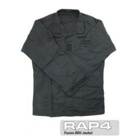 Black BDU Jacket 3X Large - paintball apparel