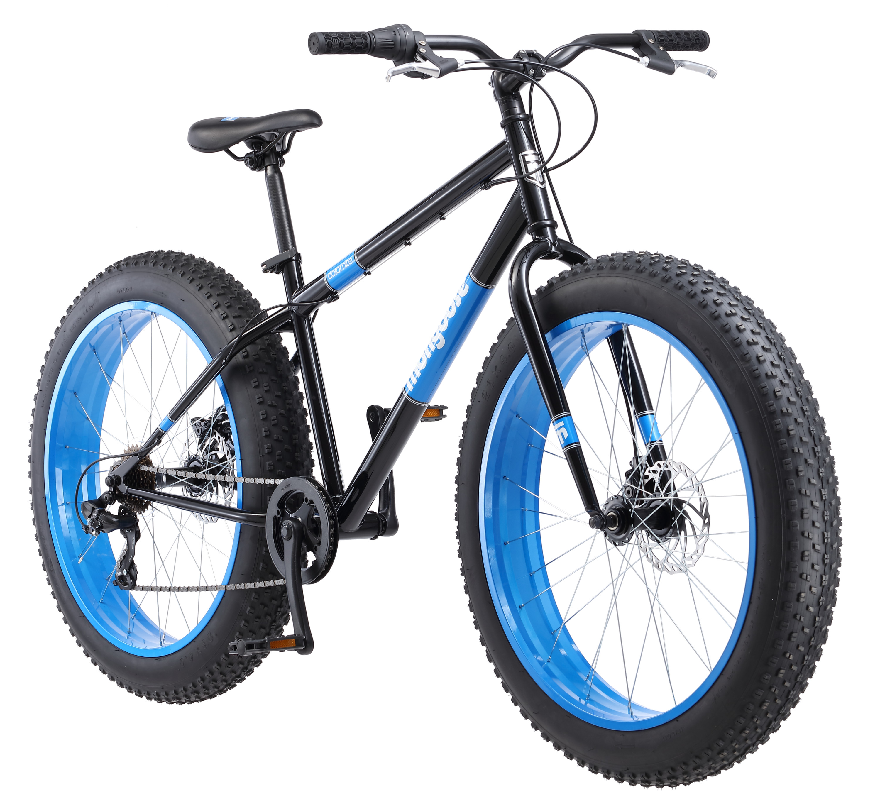 Mongoose Dolomite Men S Fat Tire Bike 26 Inch Wheels 7 Speeds