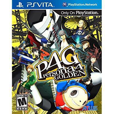 Persona 4 Golden - PlayStation Vita (Persona 4 Golden Best Personas)