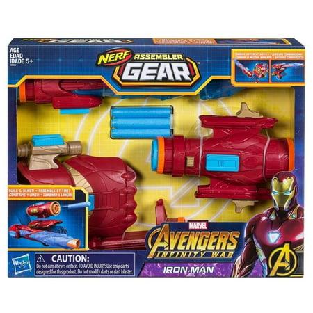 Marvel Avengers Assembler Gear Iron Man 3 Infinity War Nerf Hasbro HSBE0562 (Iron Gear)