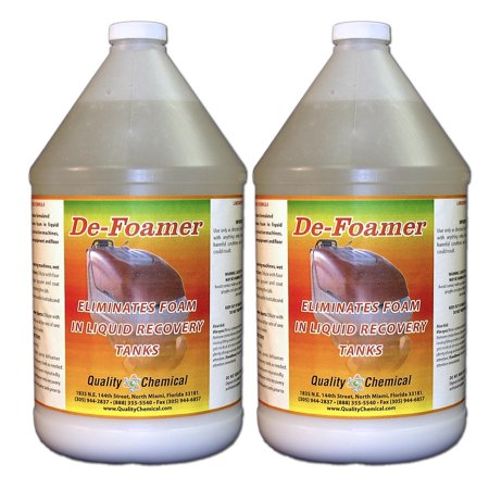 Defoamer - Instantly removes foam from Hot Tubs - 2 gallon