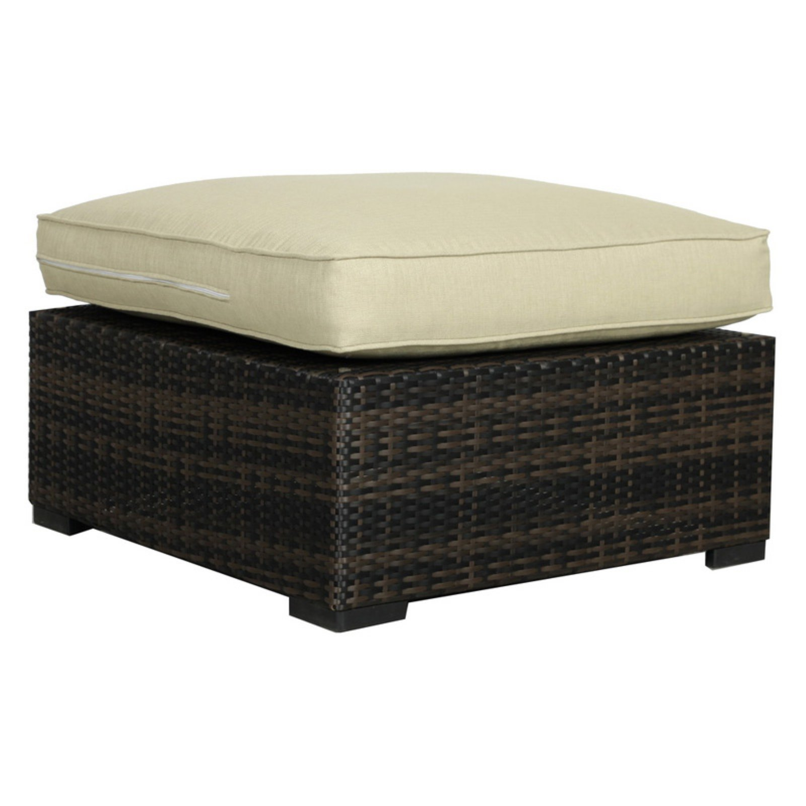 Creative Living South Hampton Sectional Ottoman with Cushion