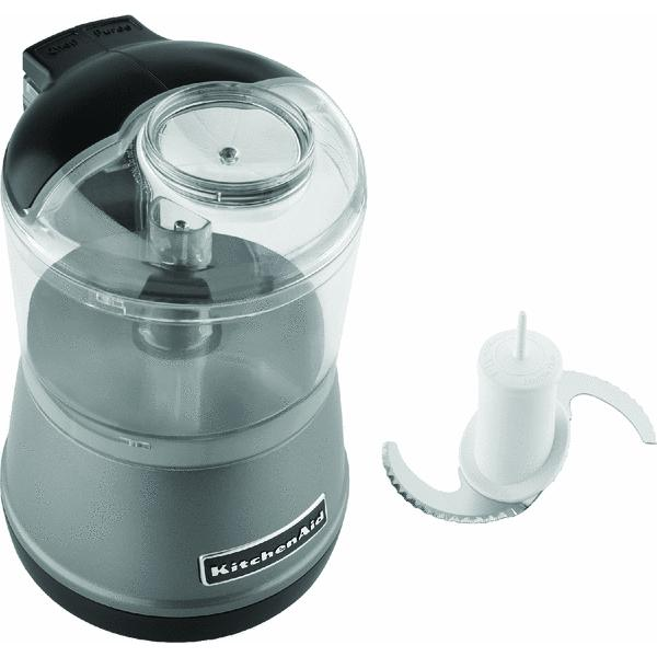 KitchenAid KFC3511CU - Chopper - contour silver