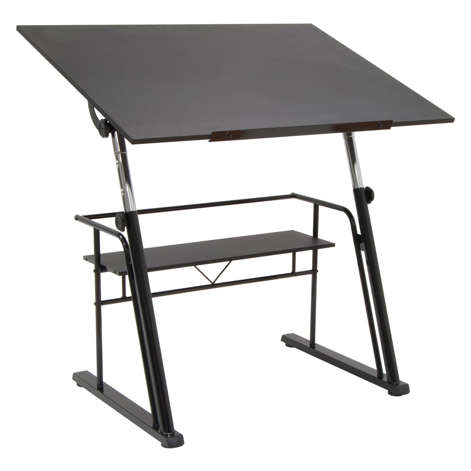Studio Designs Zenith Tilting Top Table, Black