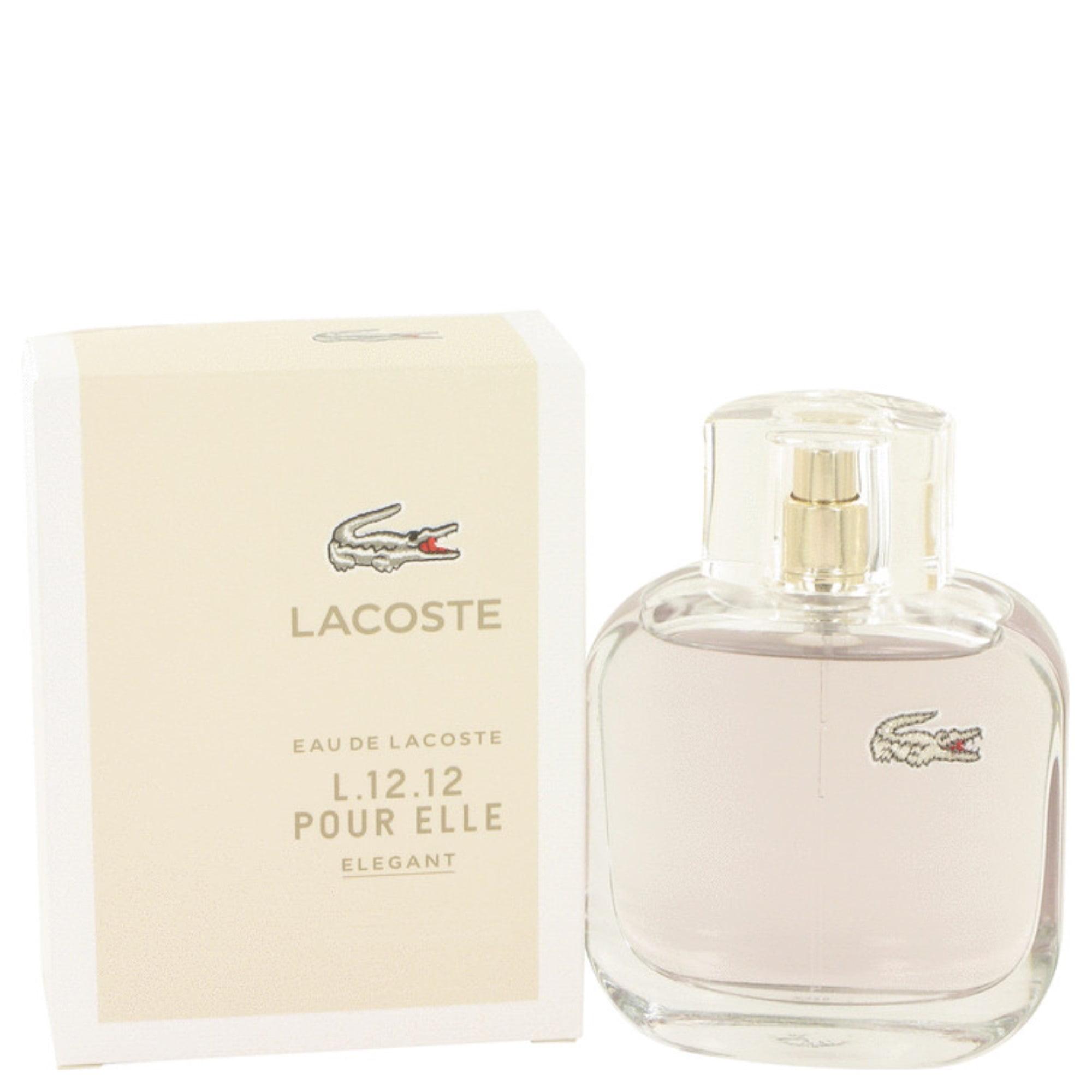Perfume3 Oz Eau Elegant Lacoste 12 De L 12 Toilette QsrthdC